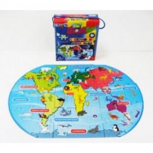 География для малышей: паззл