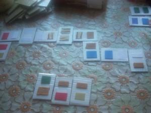 7 игр с сенсорными карточками - Домино