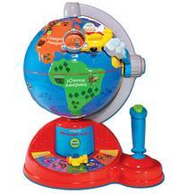 География для малышей: интерактивный глобус VTECH