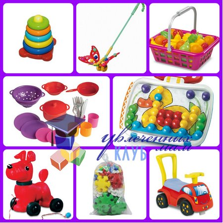 Необходимые игрушки от рождения до года: 9-12 месяцев