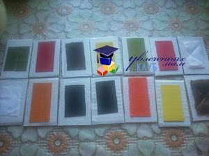 Сенсорные карточки своими руками