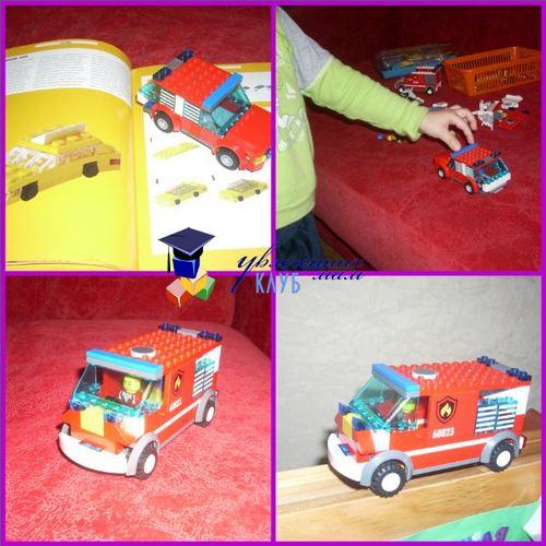 новые машины из LEGO
