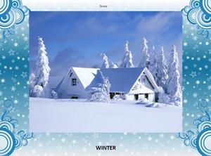 Английская презентация «Cold Winter Day»