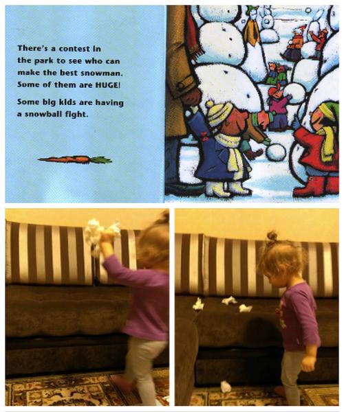 """бой снежками """"Su's Snowgirl"""""""
