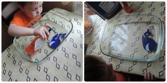 Опыт с водой Мыльный ускоритель