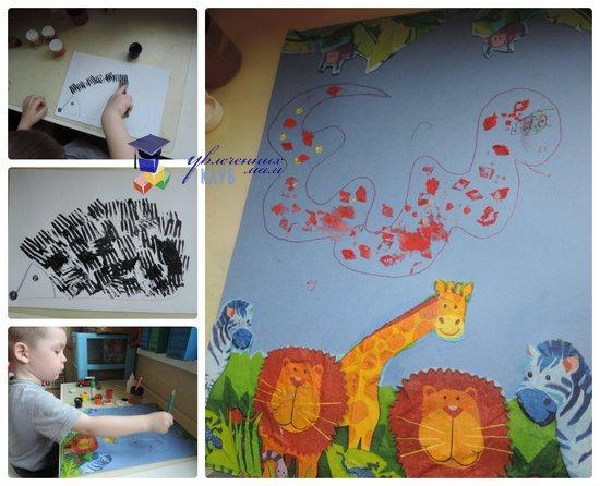 тематическая неделя зоопарк_творчество