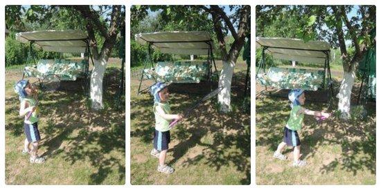 Чем занять ребенка на даче: подвижные игры