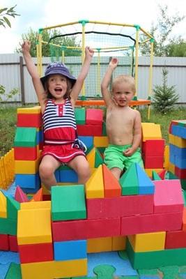 Конструктор для детской площадки