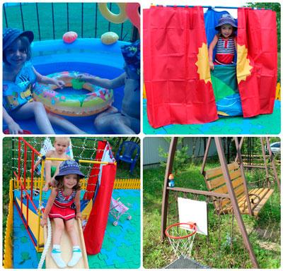 Детская площадка своими руками от Марины Сигаевой
