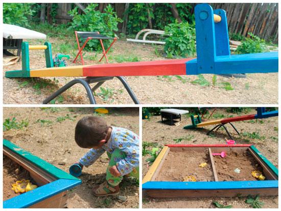 Детская площадка своими руками от Натальи Киселевой