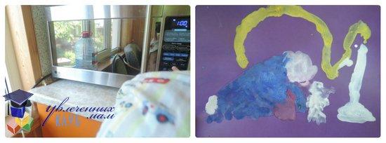 Тематическая неделя Бытовые приборы: микроволновая печь