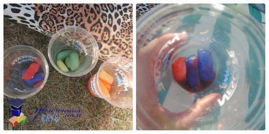Игры со льдом: смешиваем цвета