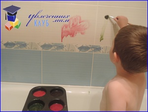 Краски для ванной своими руками