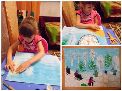 Зимние забавы от Душкиной Светланы