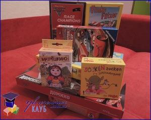 Настольные игры для детей 3-5 лет