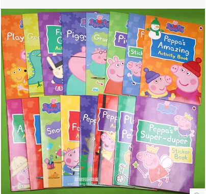 Activity Books Пеппа