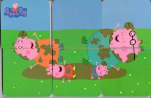 паззл свинка Пеппа