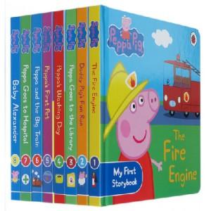 серия книг про свинку Пеппу