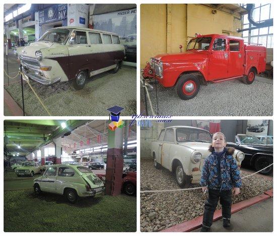 ретро-автомобили в музее