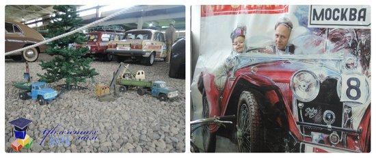игрушечные ретро-автомобили