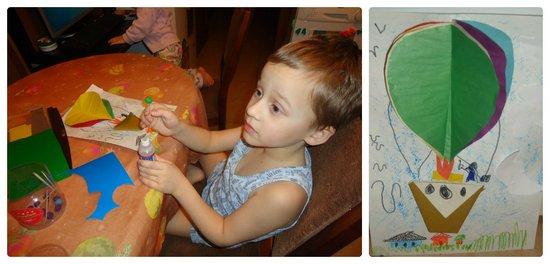 Открытки к 23 фервраля с детьми_Воздушный шар