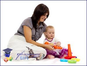 Как научить ребенка играть с пирамидкой