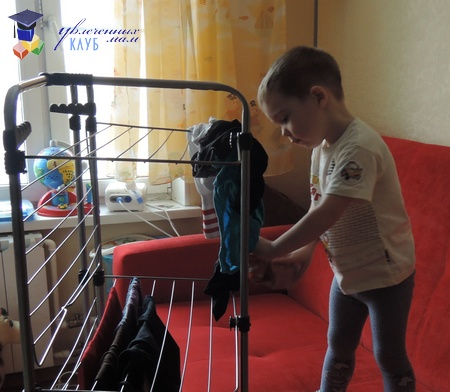 практическое развитие ребенка в 3 года