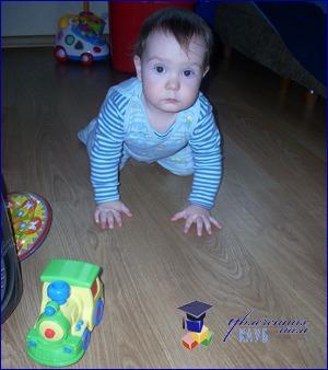 подвижные игры для малышей до года