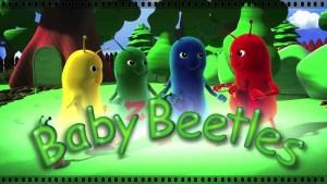 английский мультфильм Baby Beetles