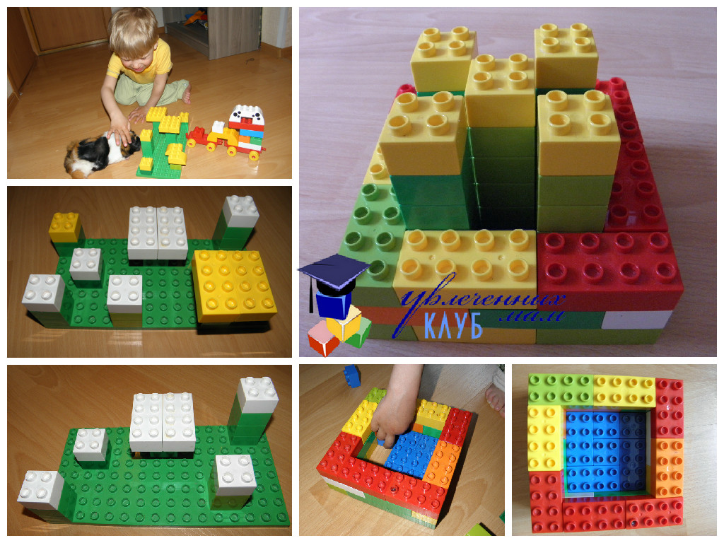 Тематическое занятие Одуванчики Лего