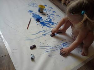 Рисуем машинками