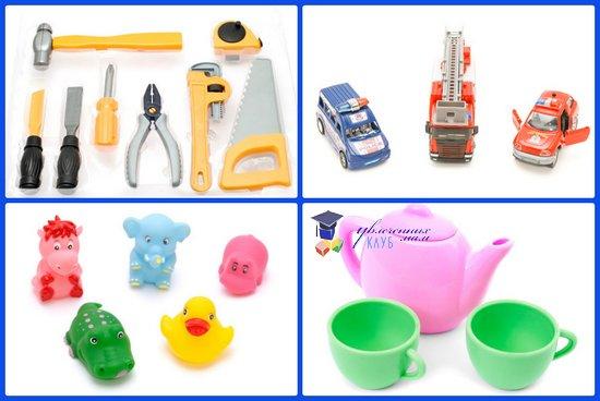 игрушки для развития навыков сюжетно-ролевой игры детей 2-3 лет