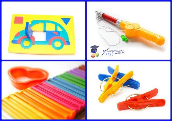 игрушки для творческого развития детей 2-3 лет