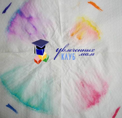 опыты для детей с цветом: хроматография