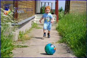 игры с мячом на прогулке