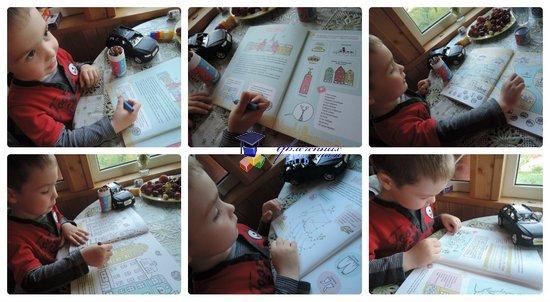книги с игровыми заданиями для детей 3-5 лет Стокгольм
