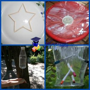 летние опыты для детей с водой