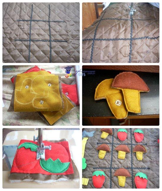 развивающая сумка-раскладушка крестики-нолики