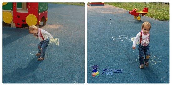 подвижные игры на прогулке ромашка