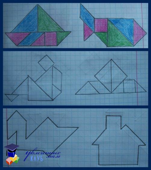 схемы для танграм