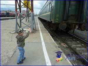 тематическая прогулка поезд
