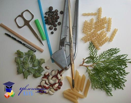 материалы и приспособления для лепки из соленого теста