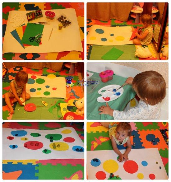 игры с камнями на цвета и размеры