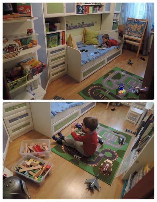Егоркина комната общий вид