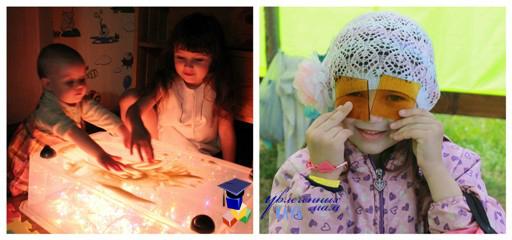 Развивающие занятия с дочерьми
