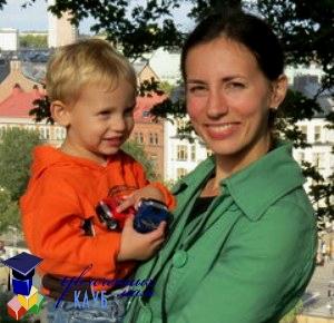 увлеченная мама Ольга Дук