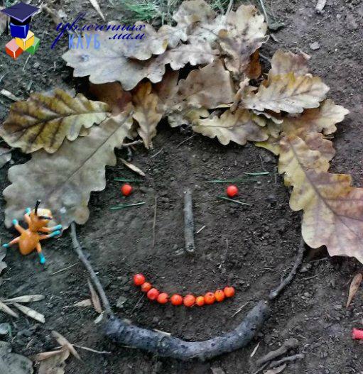 встреча с муравьем-осенний квест