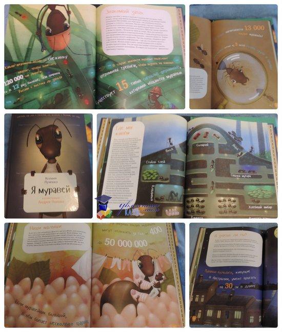 Книги о животных Я муравей