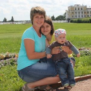 Павлова Екатерина с детьми