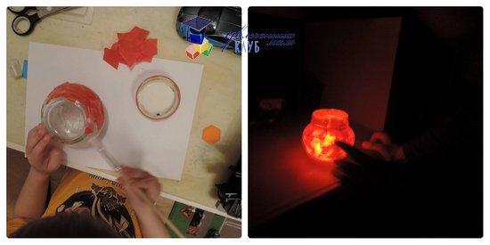 География для детей Китайский фонарик